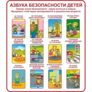 безопасность детям