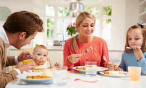 питание в семье